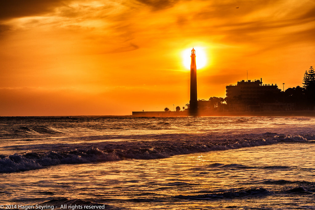 Lighthouse from Maspalomas