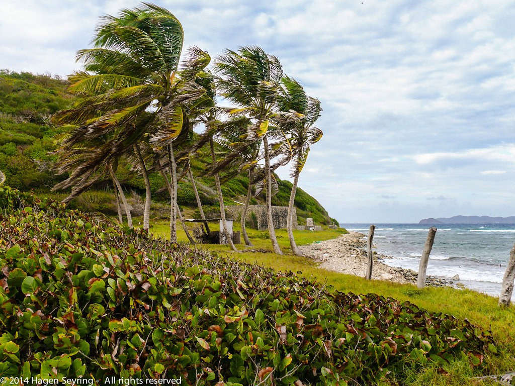 Stormy weather in the Tobago Cays