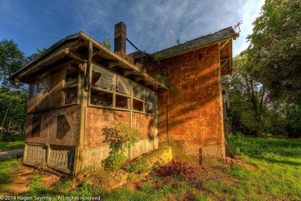Sidebuilding of Castle Marquardt
