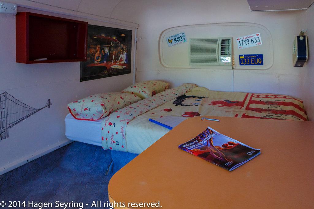 My room in Alice Secrets Travellers Inn