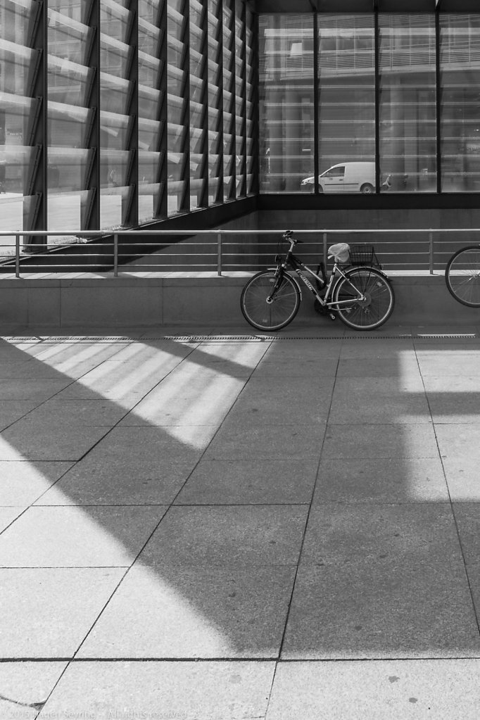 Bicycle, Potsdamer Platz, Berlin