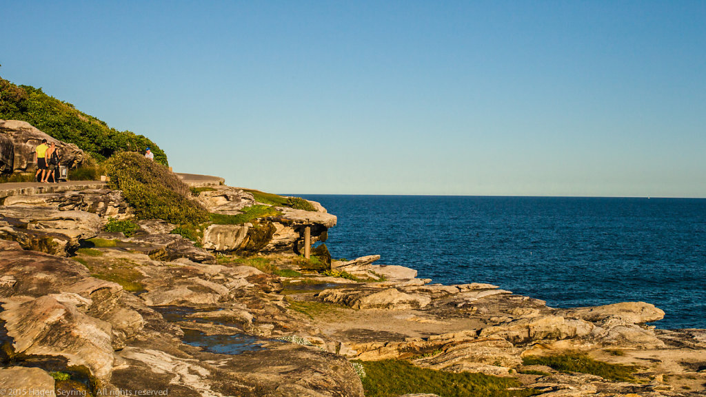 Cliff walk from Coogee to Bondi Beach
